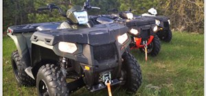 Explore Minnesota's Trails with our Polaris 500/550 Sportsman