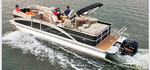 Take the Whole Group out on the Water with our 2014 20' Sylvan Pontoon