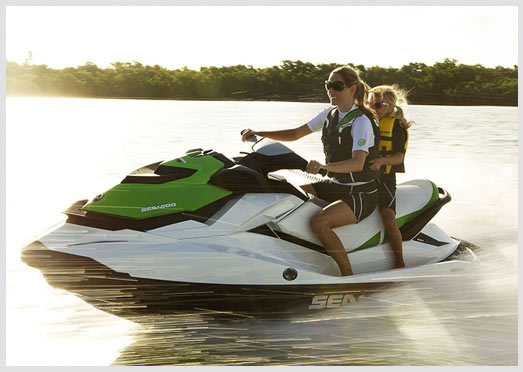 Have a Blast Jetskiing or Tubing with our 2013 Seadoo GTI Waverunner