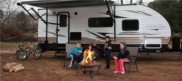 Camp in Comfort with the Echo 25' North Bay RV