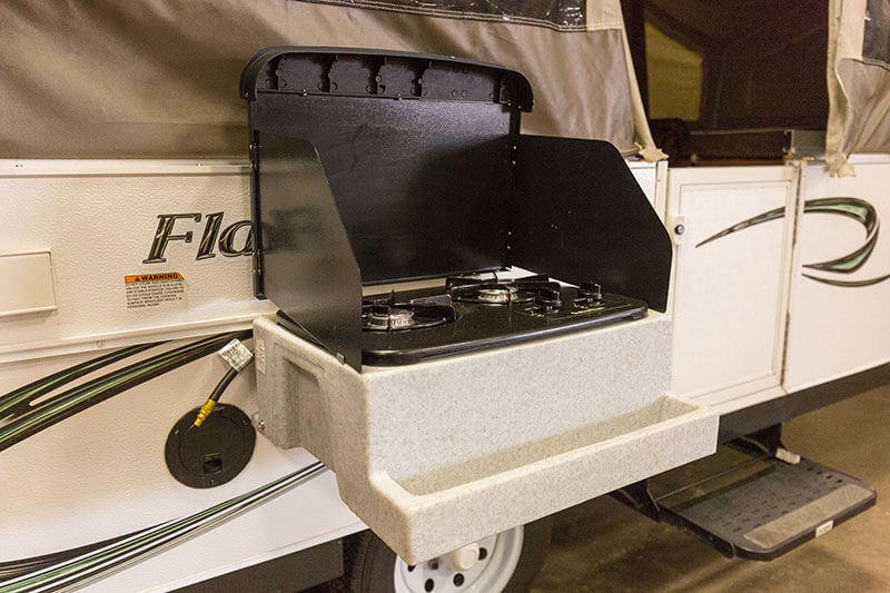 Pop-up Trailer Kitchen