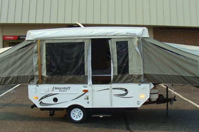 Pop-up Trailer Rental